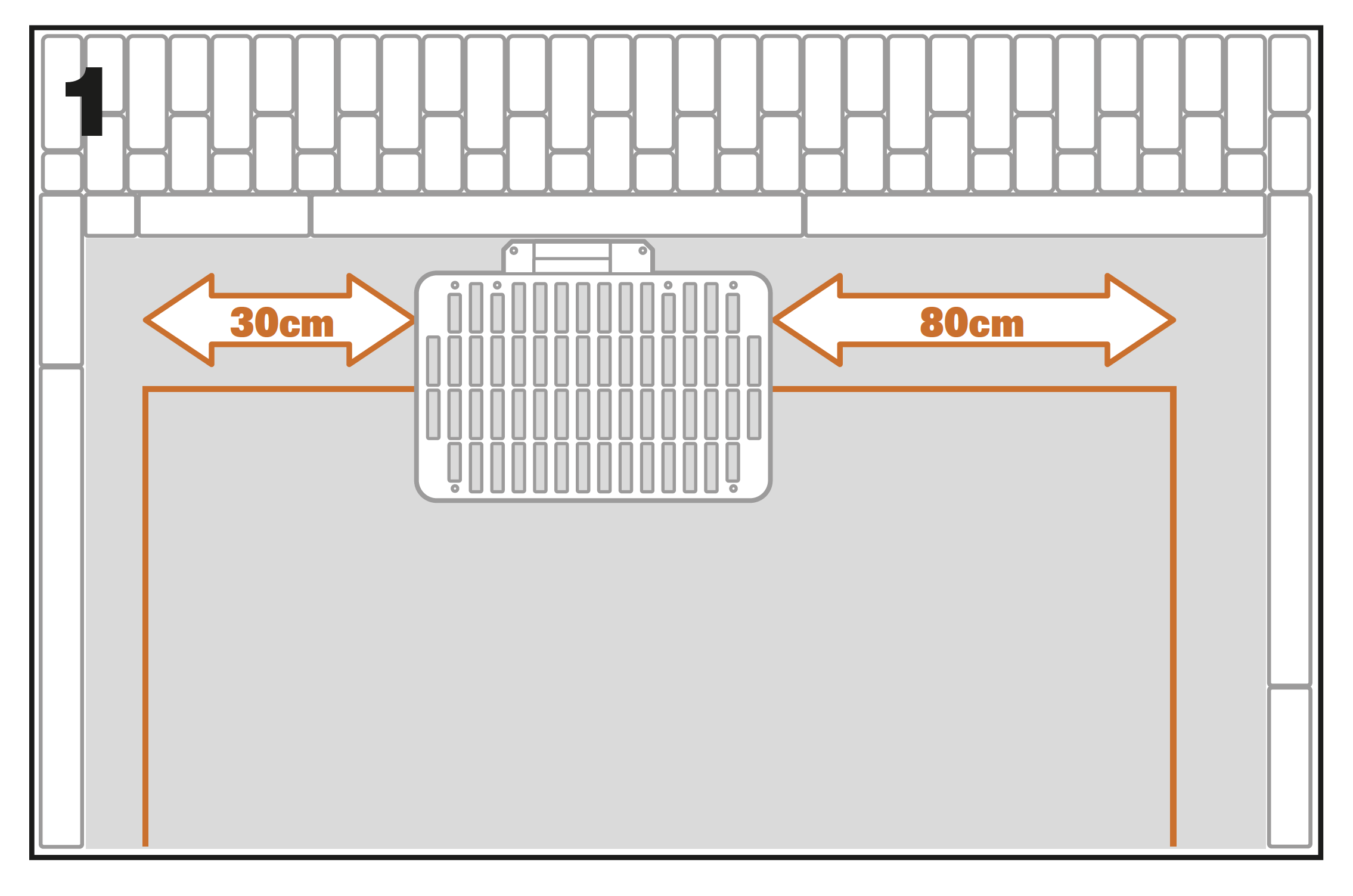 charging base of Landroid S, M, L 19-1
